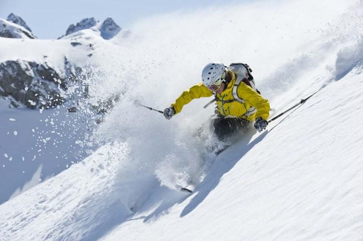 Winteraktivitäten Montafon Freeride Abenteuertag