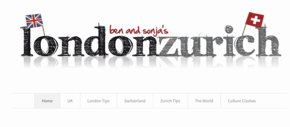 Top 10 Reiseblogs Schweiz londonzurich