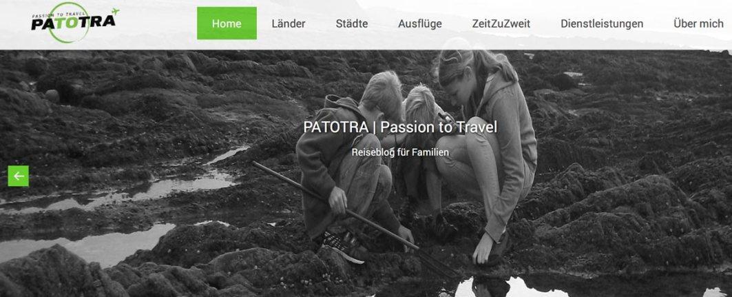 Top 10 Reiseblogs Schweiz Patotra