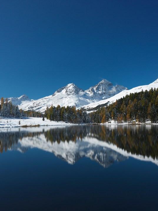 Stazersee Alpen Schweiz