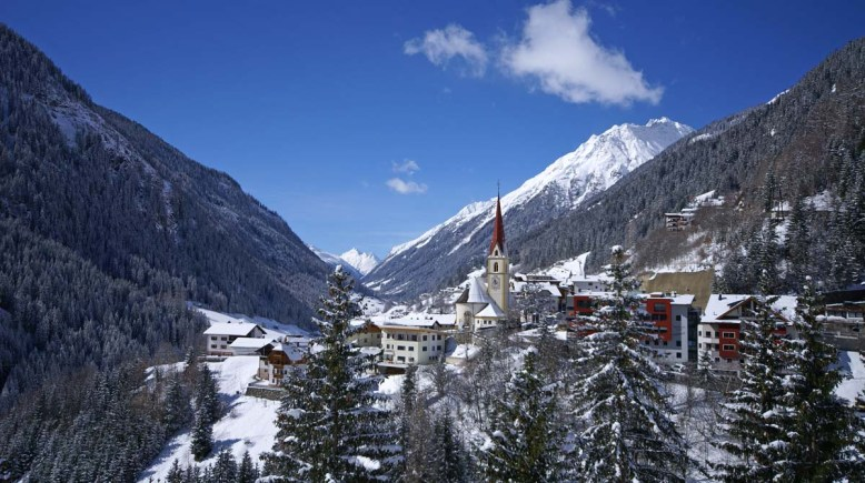 Ischgl Kappl Skifahren Winter