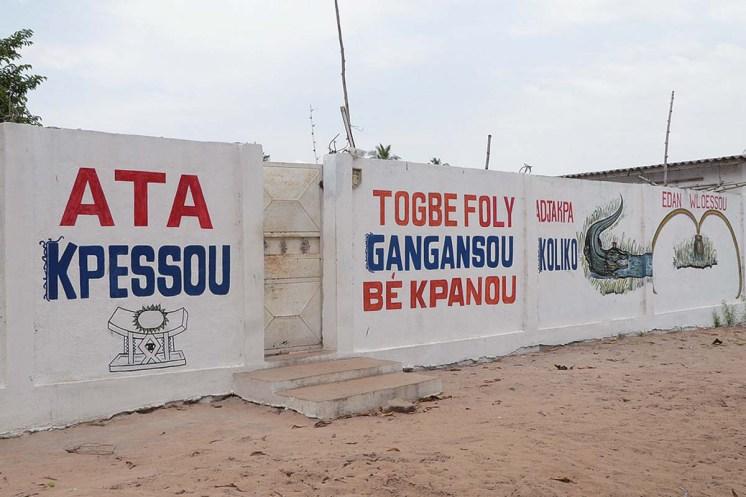 Togo Vodun Voodoo Zeremonie