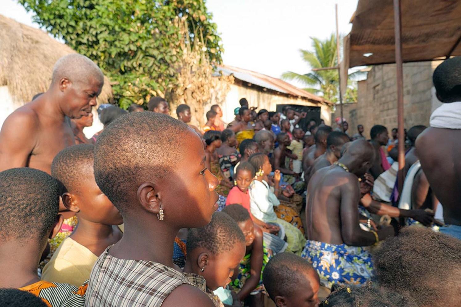 Togo Vodun Voodo Zeremonie