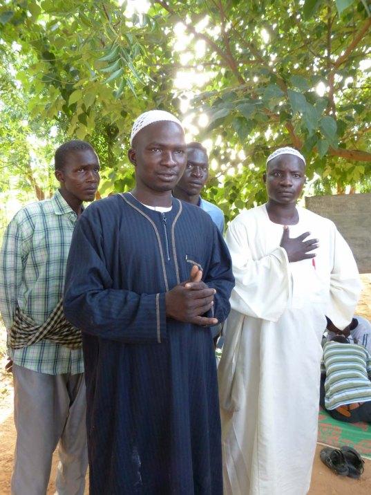 Chad refugee camp