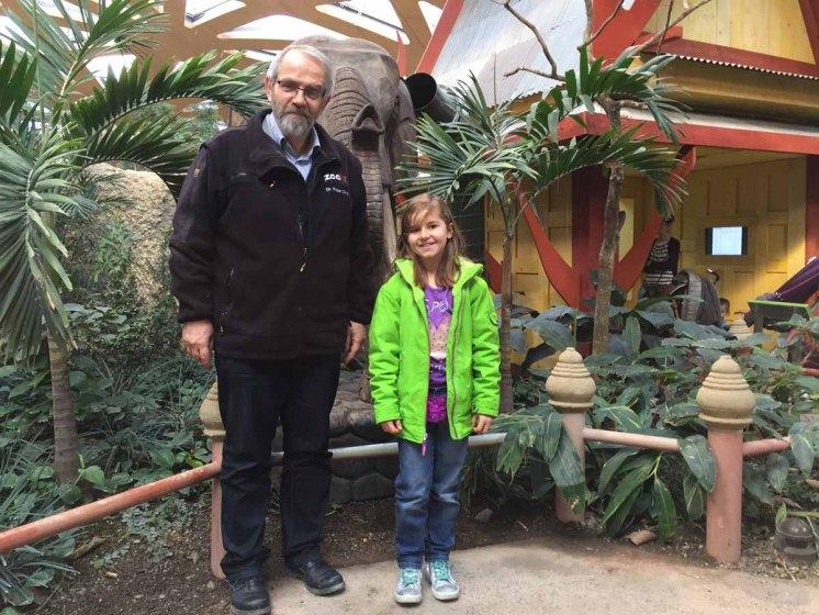 Herr Zingg und ich: zwei Elefantenexperten