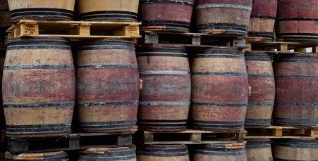 Weinstrasse - Küferei Eder - Fässer Frankreich