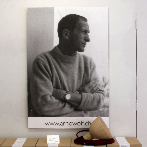 Arno Wolf Basel Portrait