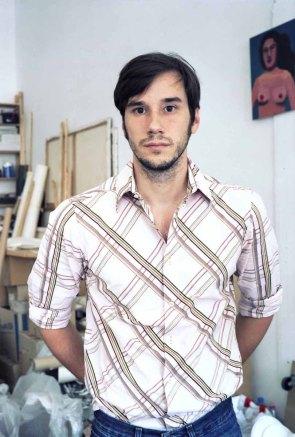 Christoph Ruckhäberle, der Künstler und Inhaber des Luru-Kino