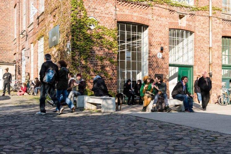 Maler Architekten Tänzer - in der Spinnerei wird Kunst gelebt