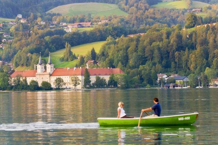 Stadt Tegernsee - Blick aufs Kloster - © Thomas Linkel