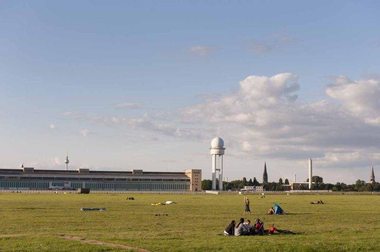 Tempelhofer Feld © visitBerlin - Foto Philip Koschel