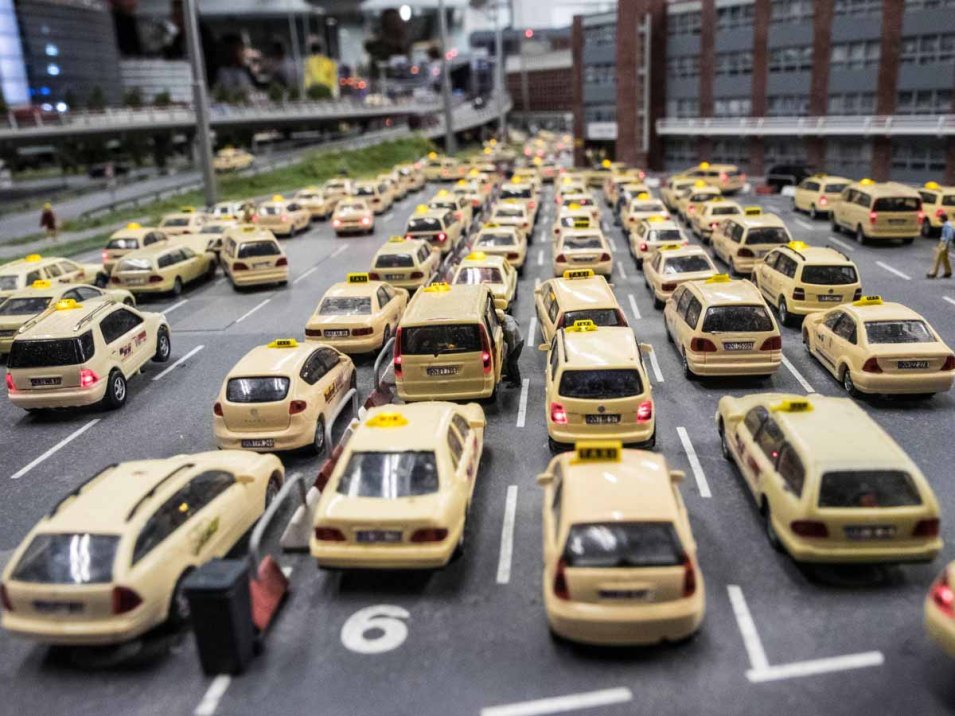 Traffic jam im Wunderland