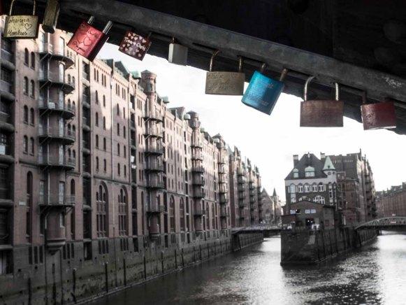 Love Locks in der Speicherstadt