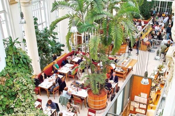 Gute Cafés in Wien: Palmenhaus Wien