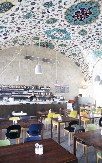 Gute Cafés in Wien: Corbaci Café im Museumsquartier