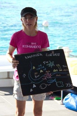 Reni erklärt die Unterwasserwelt