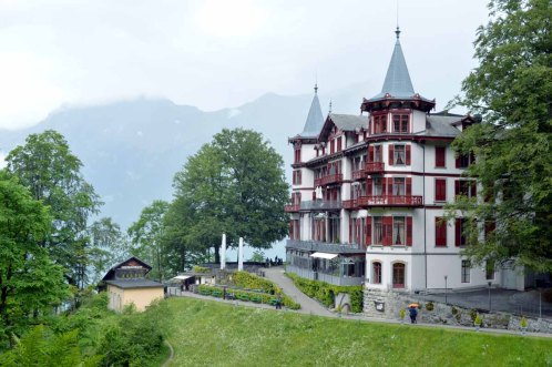 Grand Hotel in Giessbach