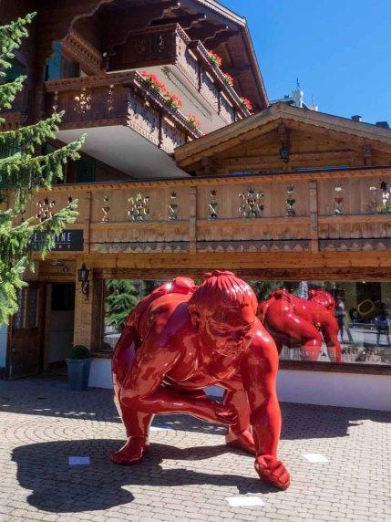Kunst in Gstaad