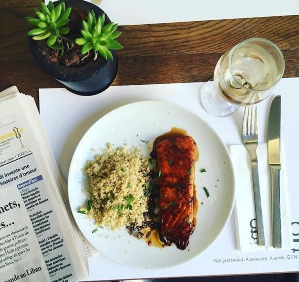 Ginette: Lachs mit Couscous