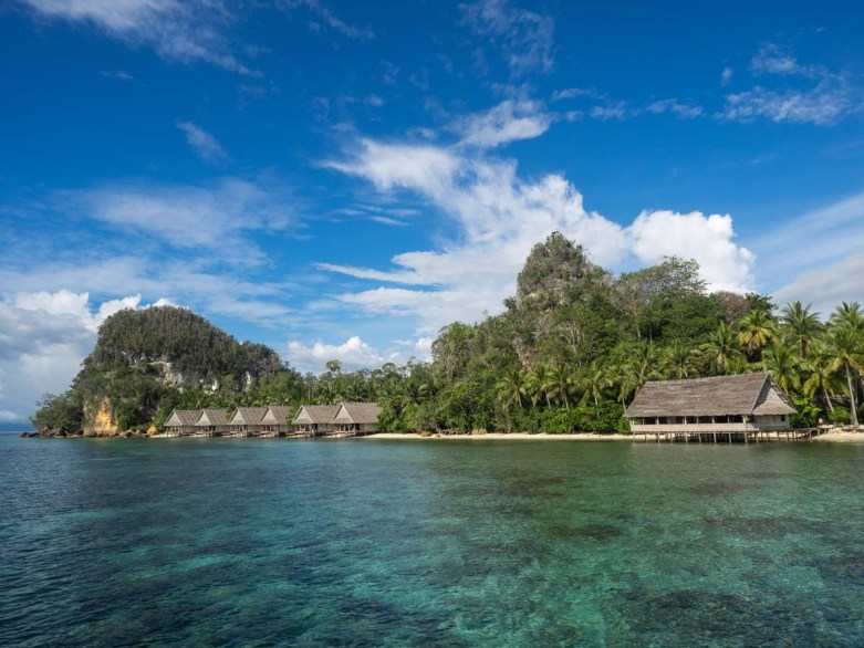 Traum Bungalows Unterkunft Raja Ampat