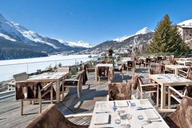 Die allseits beliebte Terrasse des Hotels