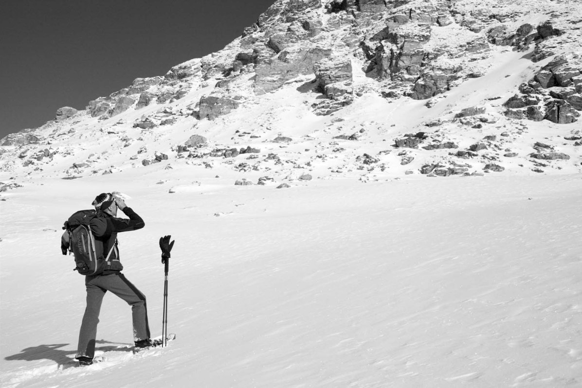 Outdoor Butler Schneeschuhwanderung Engadin 06