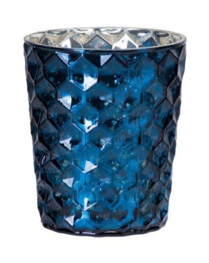 teelicht-gross-blau-waben