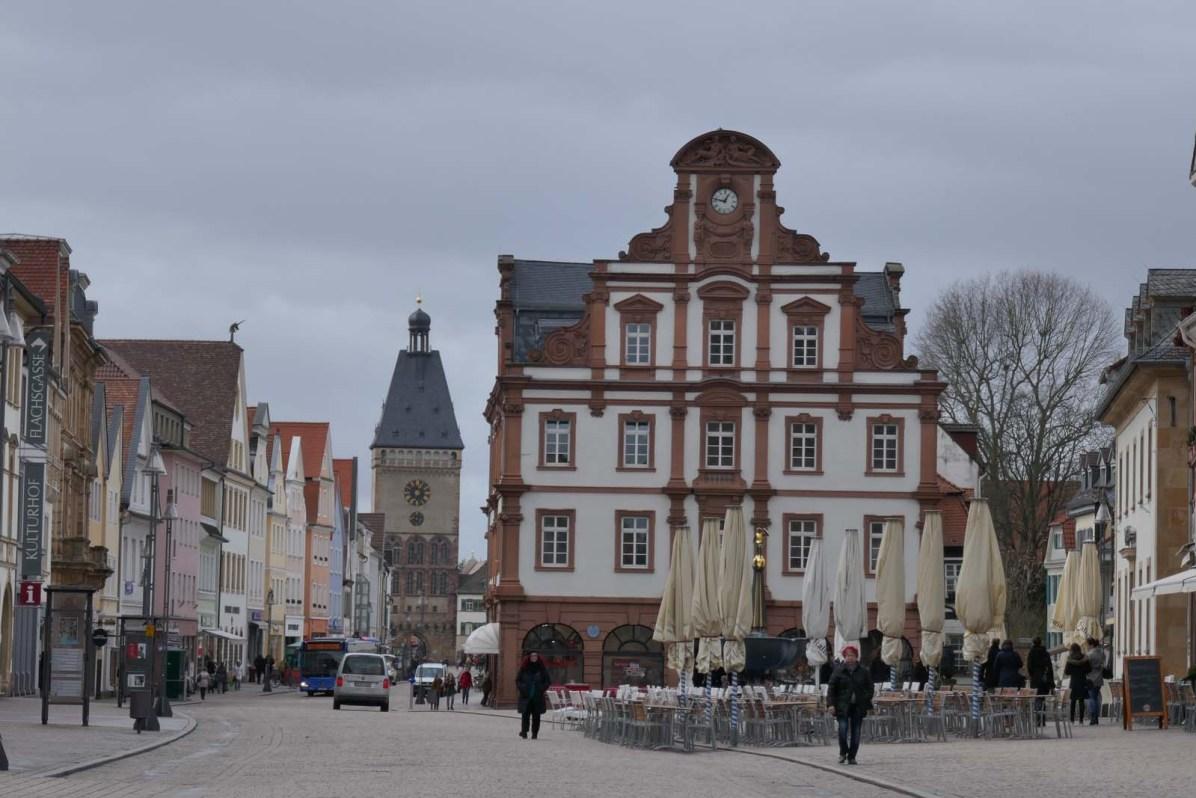 Spaziergang durch die Altstadt von Speyer.