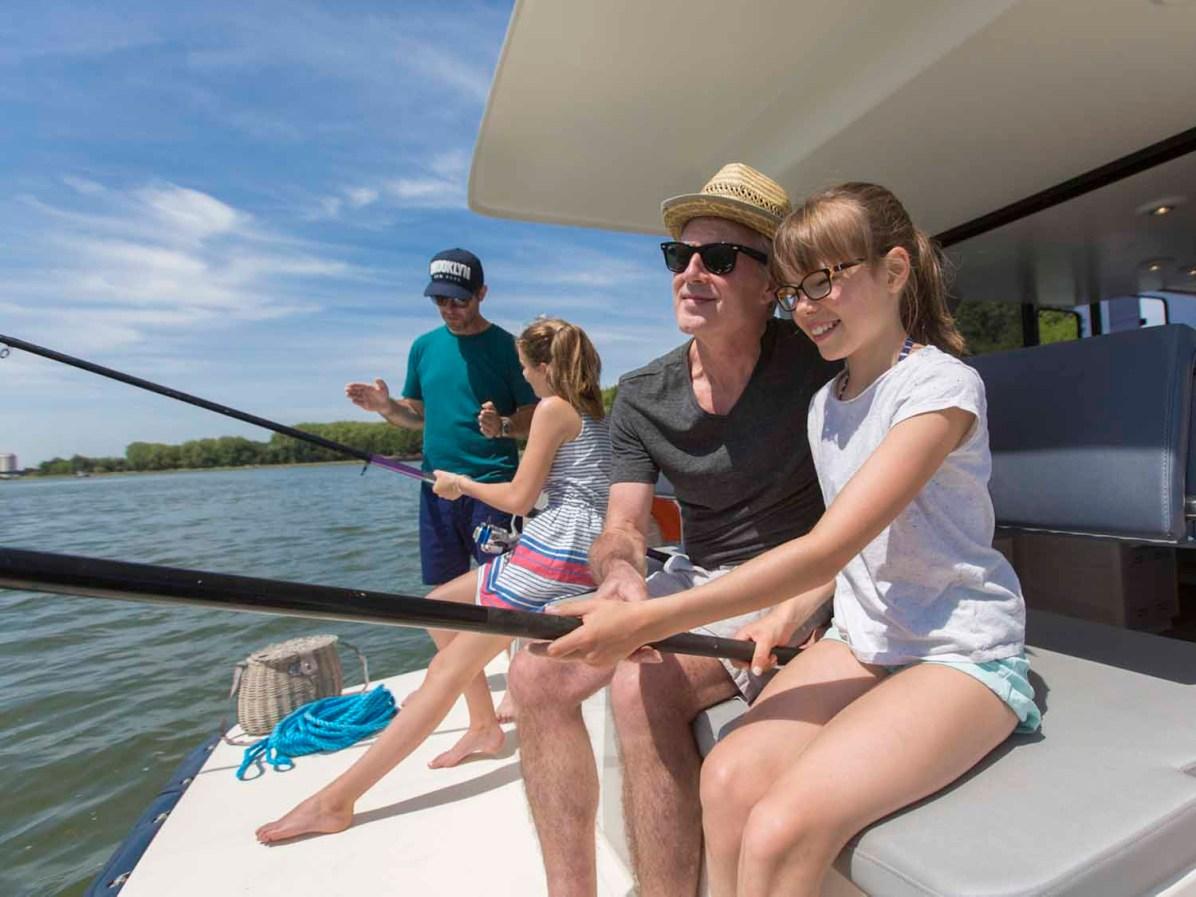LeBoat Familienferien Hausboot