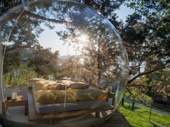 Übernachten einmal anderst in der Bubble