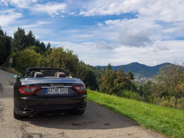 Unterwegs mit dem Maserati GranCabrio Sport