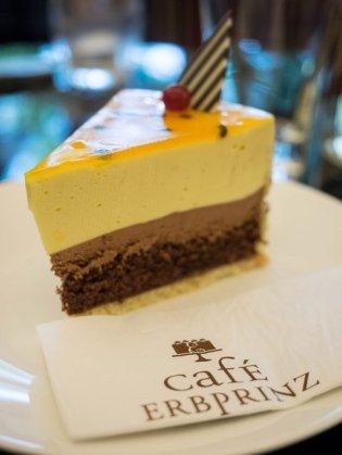 Kuchen im Cafe Erbprinz