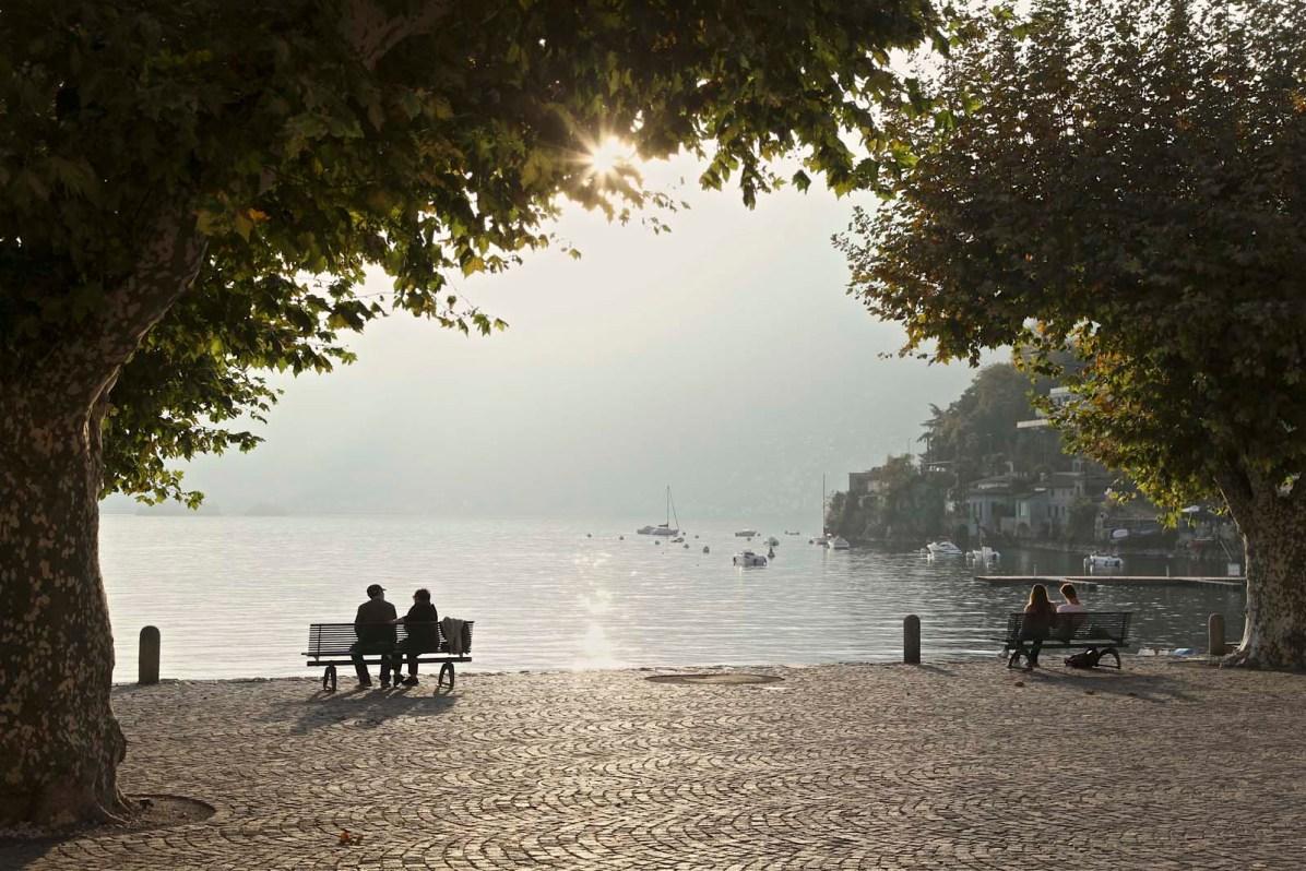 Romantisch - der Sommer dauert hier im Tessin etwas länger.