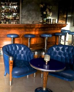 Die Bar des Hotels