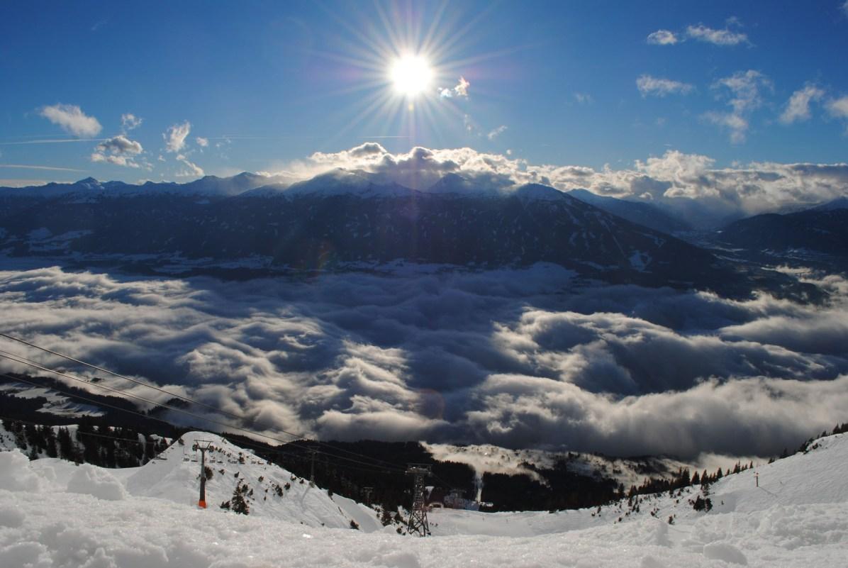 Innsbruck Aussicht von Seegrube