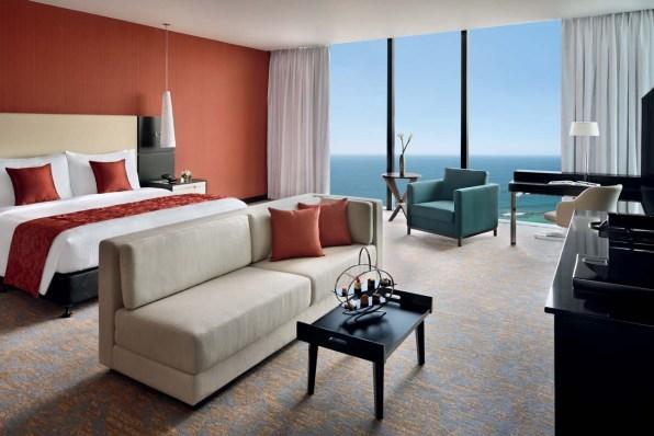 Die komfortablen Zimmer ...