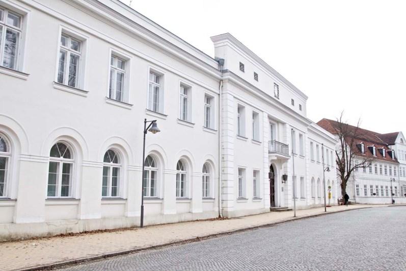 Auch vom Hotelgründer Grossherzog Friedrich Franz gebaut und steht in Bad Doberan ...
