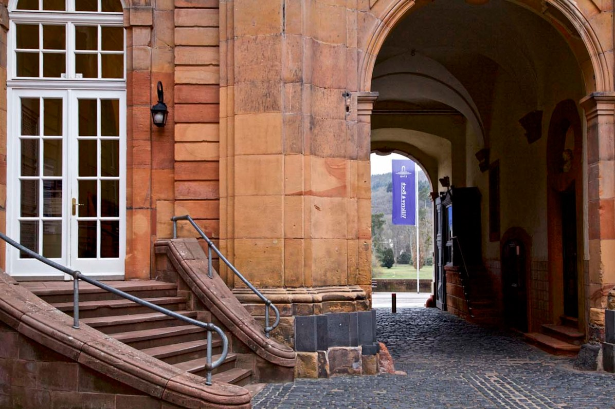 Der Eingang zum Museum von Villeory & Boch