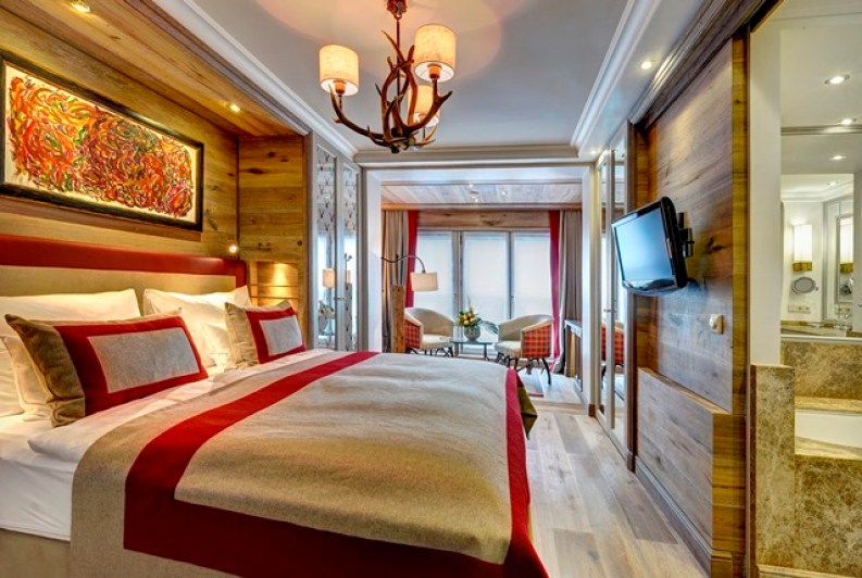 Ein Zimmer im Astoria Seefeld Resort