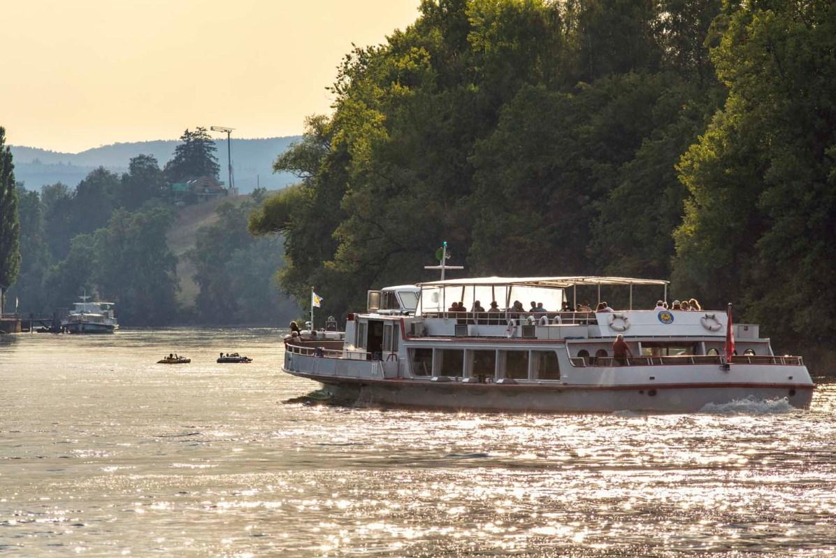 Schiffahrt Schaffhausen Rhein Untersee 16