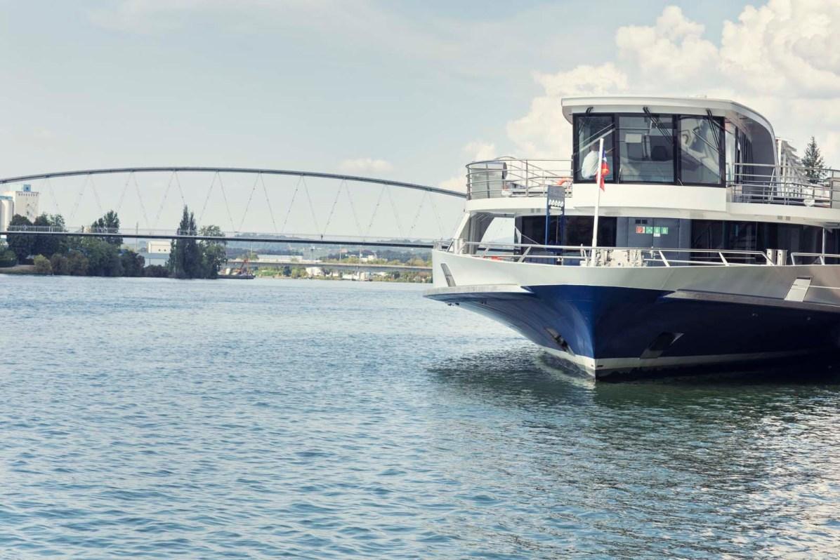 Der Rhystärn - Basels neuer Stolz auf dem Rhein.