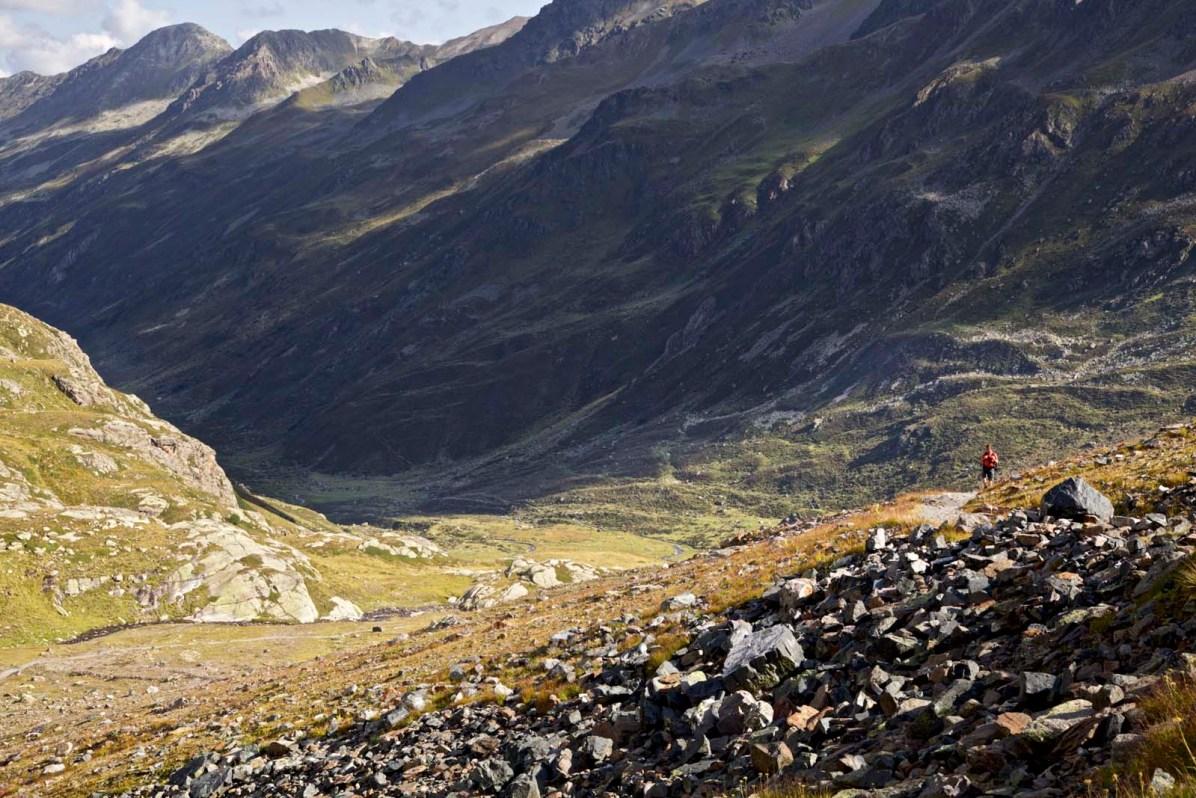 Fernwanderung Kesch Trek Davos Berguen
