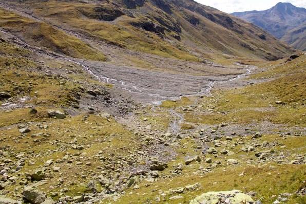 Hochalpine Berglandschaft