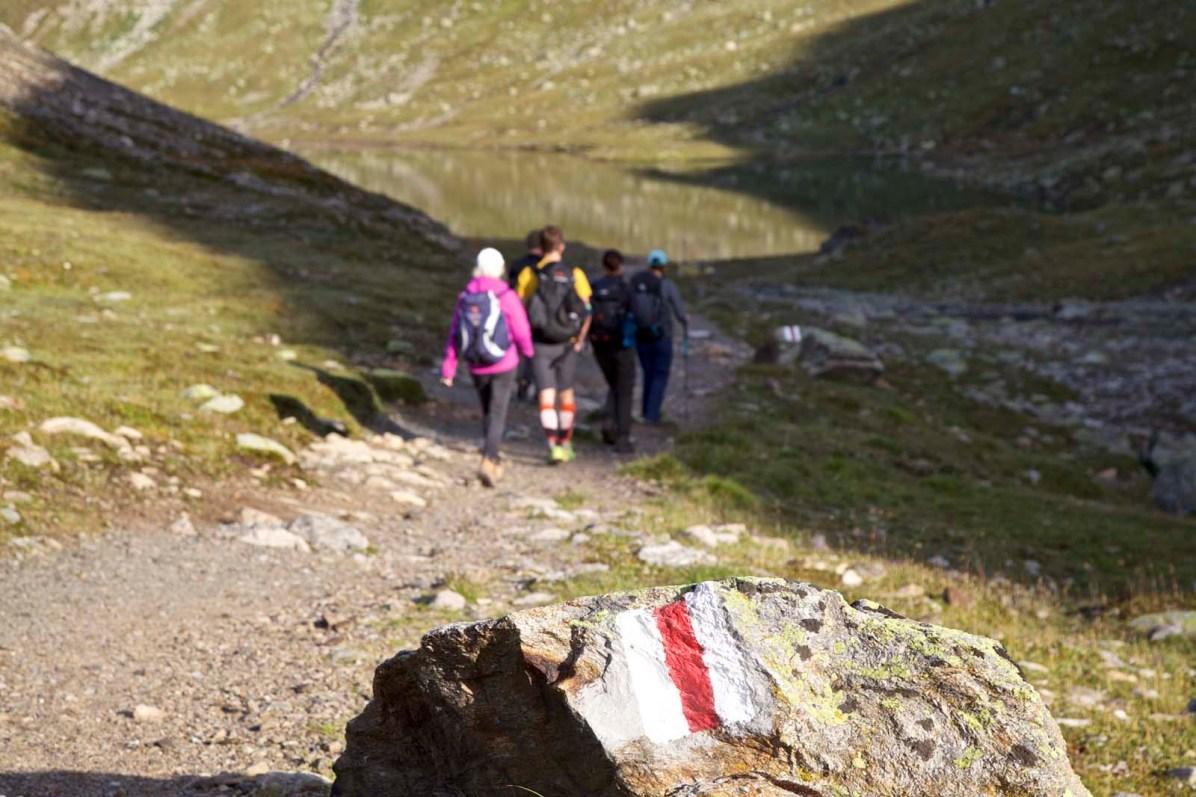 Wanderung im Kanton Graubuenden