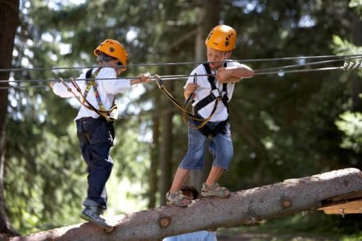 Seilpark Fun Forest © Crans-Montana Tourisme