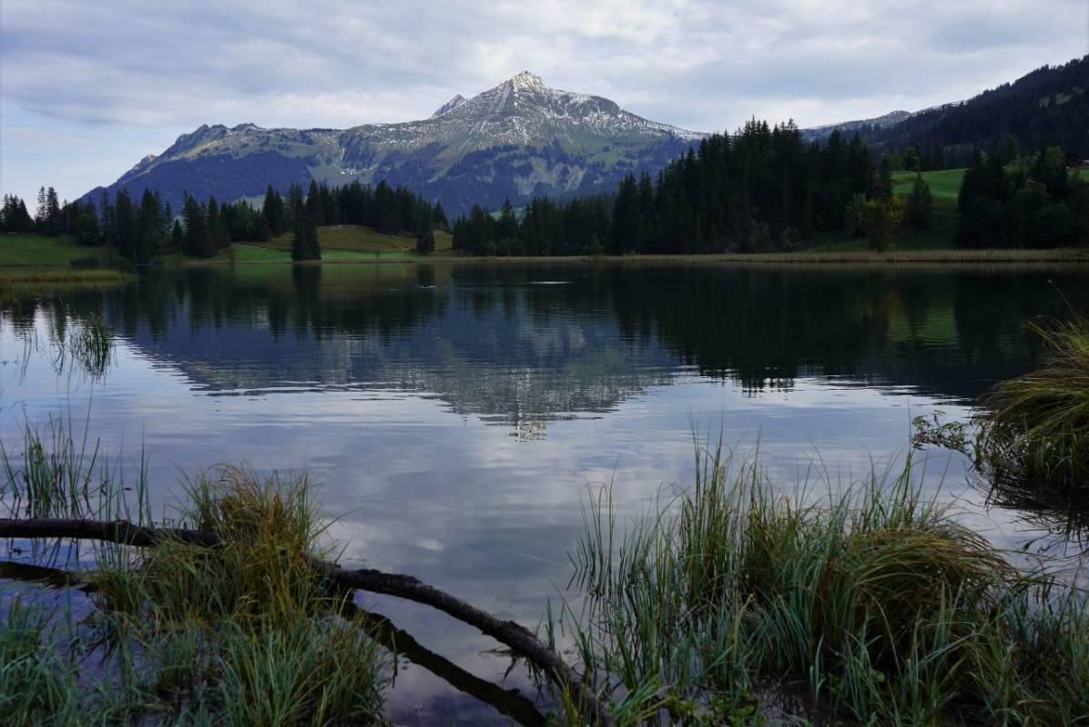 Der Lauenensee von der anderen Seite. © Eva Hirschi