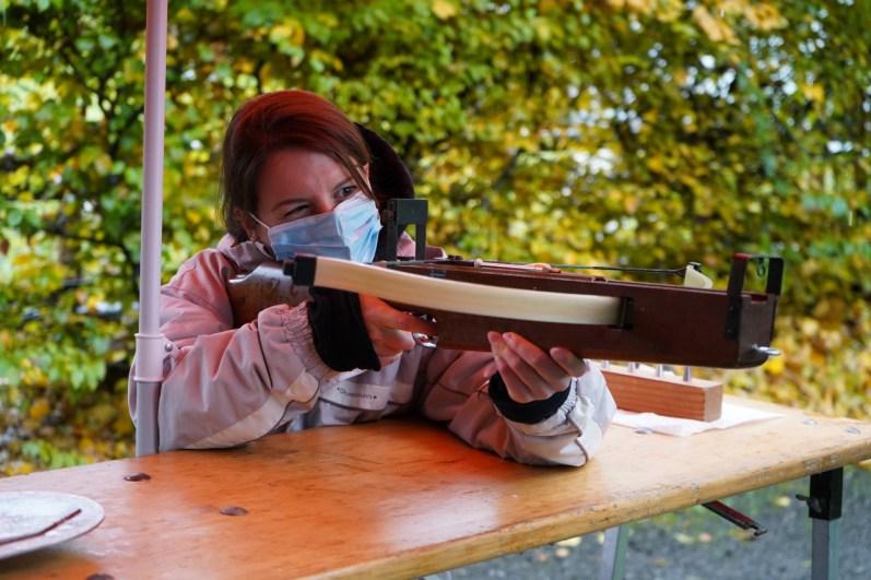Die Armbrust von Tell dürfte etwas rustikaler ausgesehen haben. © Eva Hirschi