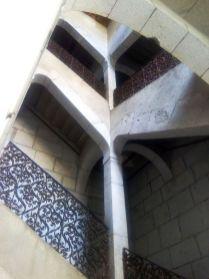 Escalier et fers forgés de l'hôtel de Châteauneuf à Chambéry