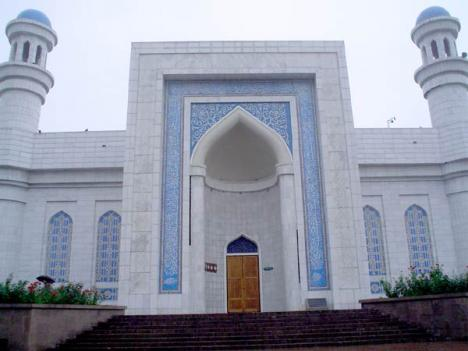 Central Mosque of Almaty Kazakhstan