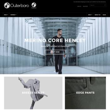 Outerboro - We converted psd to shopify